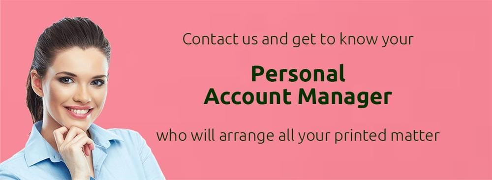 Your personal  Account Manager