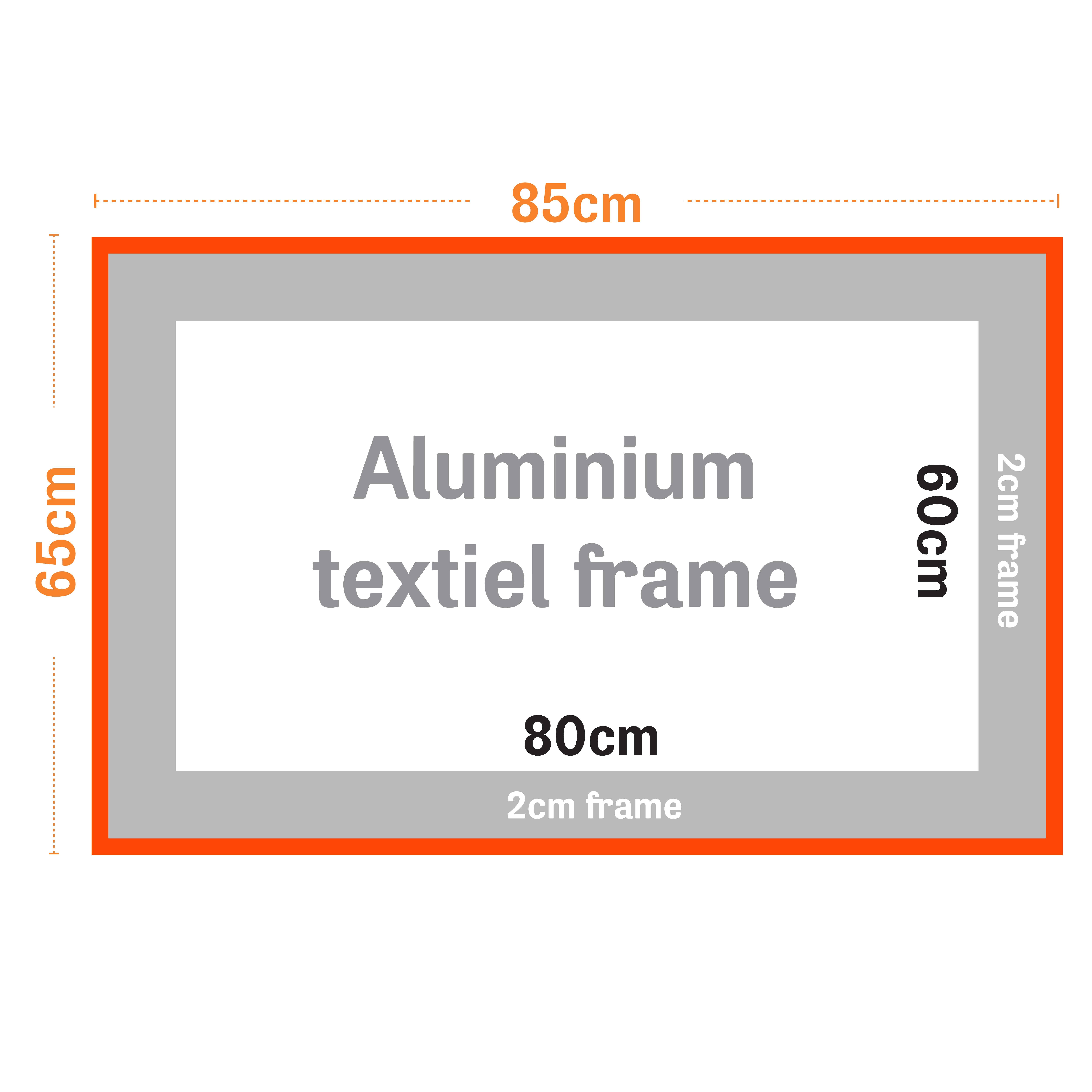 Textiel frames| Happyprinting.nl
