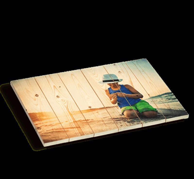 Afbeelding voor categorie Foto op hout