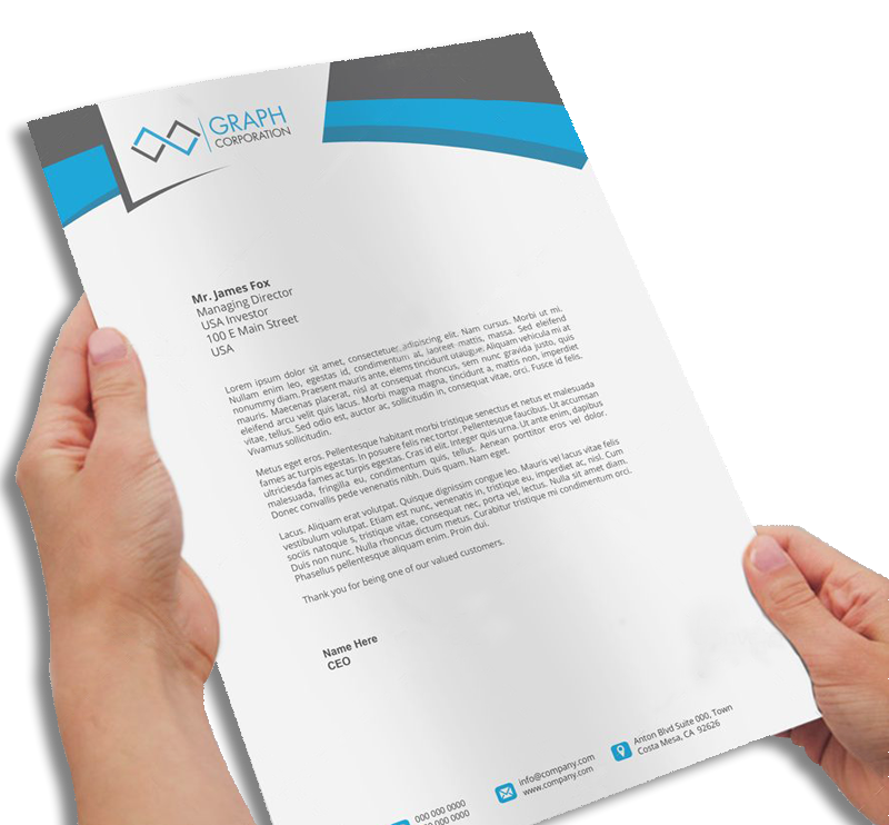 Picture for category Letterhead