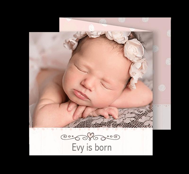 Afbeelding voor categorie Geboortekaartjes