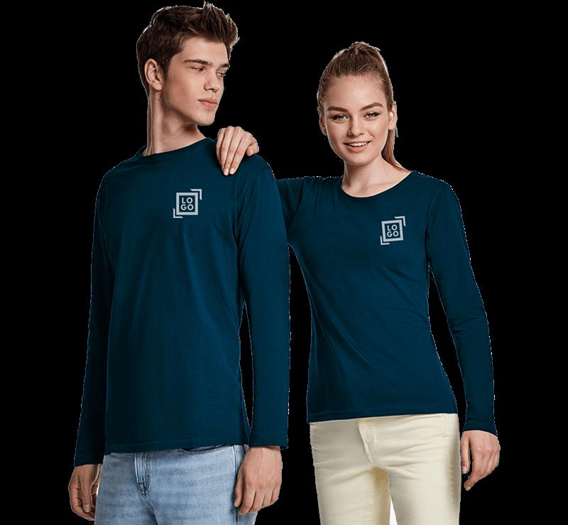Afbeelding voor categorie T-shirts lange mouwen
